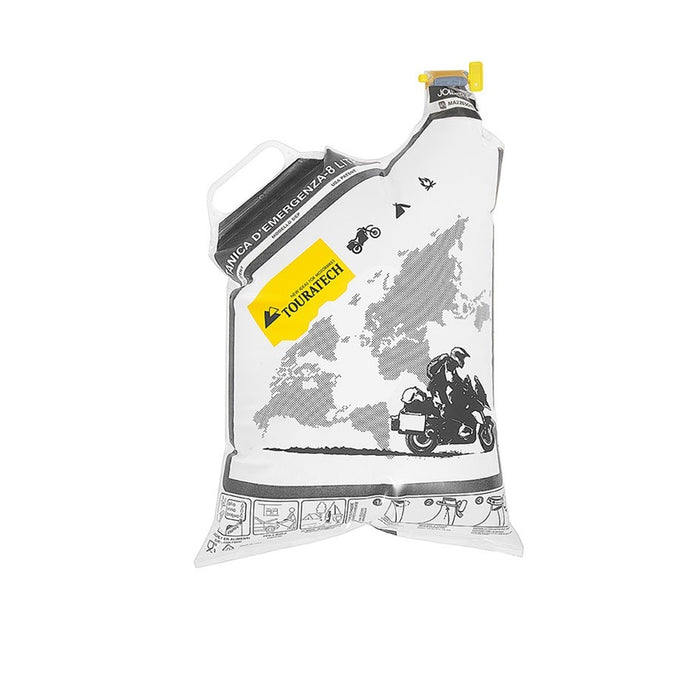 Emergency Fuel Bag, Touratech Jollytank, Disposable Folding Canister (8 Litres) - SIMZ Werkz
