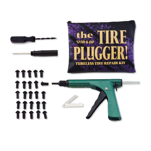 "Tubeless Tire Plugger In Zip Pouch With (25 Pcs) 3/4"" Plugs"