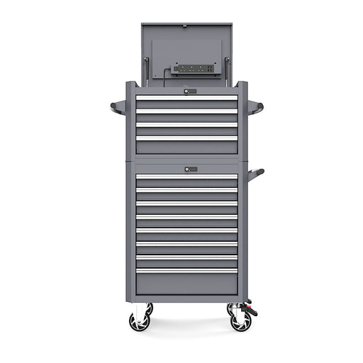 12-Drawer Digit Lock Tool Cabinet with 355pcs Professional Tools Set