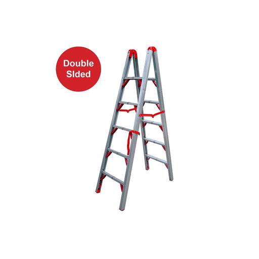 6FT Double Sided Folding Step Ladder - SIMZ Werkz
