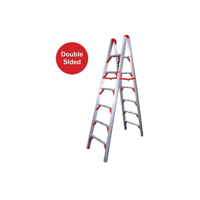 7FT Double Sided Folding Step Ladder - SIMZ Werkz