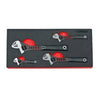 4 pcs Adjustable Wrench Set, 1/3 System Insert - SIMZ Werkz