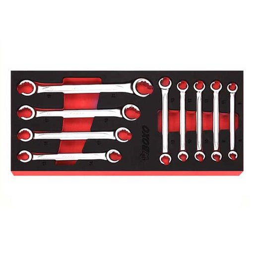 9 pcs Flare Nut Wrench Set, 1/3 System Insert - SIMZ Werkz