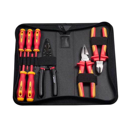 8 pcs Insulated VDE Tool Set w/ Pouch Bag - SIMZ Werkz