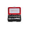 "15pcs 1/4"" Dr. 6PT Socket Set - SIMZ Werkz"