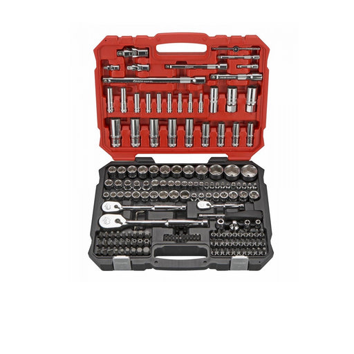 "171 Pcs 1/4"", 3/8"", 1/2"" Dr. 6PT Socket Set (Metric) - SIMZ Werkz"