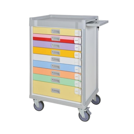 "MX Pediatric Emergency Cart 37"" (Color Coded) - SIMZ Werkz"