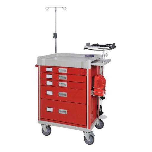 "MX Emergency Cart 31"" (Red) - SIMZ Werkz"