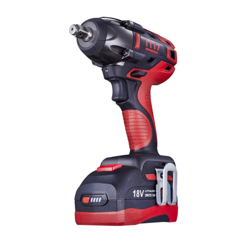 "1/2"" Dr. BL Cordless Impact Wrench, 2 Cell 18V 5.0Ah"