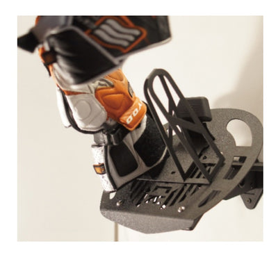 Helmet Rack with Adjustable Fan Speed Control (4900 RPM)