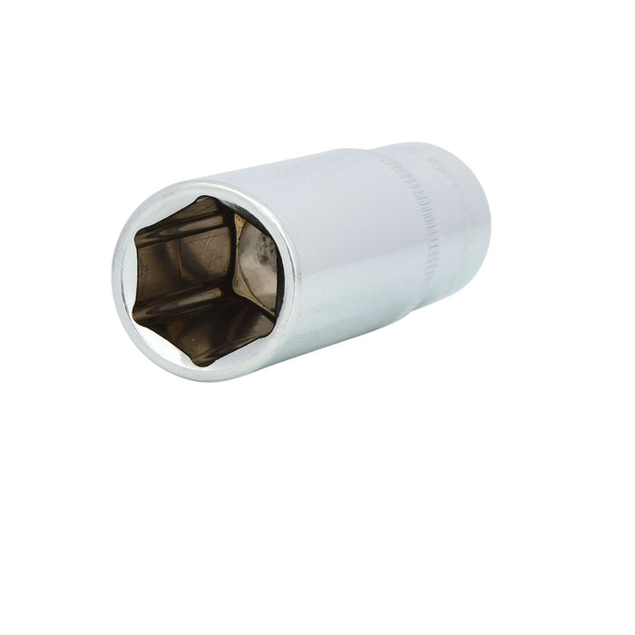 "1/2"" CHROMEplus Hexagonal Deep Socket - SIMZ Werkz"
