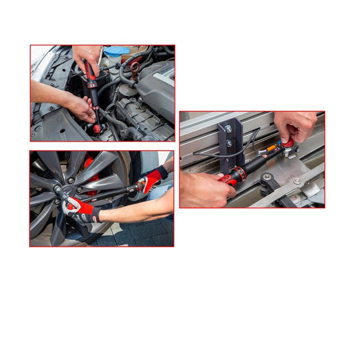 ERGOTORQUE Precision Torque Wrench with Rotary Mushroom Ratchet Head - SIMZ Werkz