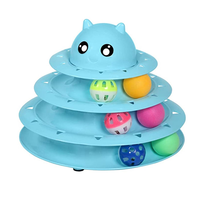 UPSKY Circular Turnable Cat Toy