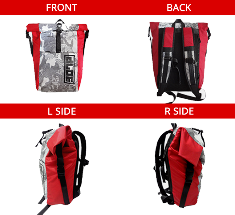 *LIMITED EDITION* <br>PX-2 FLASH in RED (20L)<br>Waterproof Reflective Backpack - SIMZ Werkz