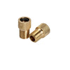 Presta to Schrader Adapter Valve (per pair)