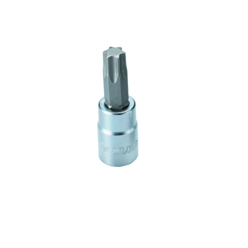 "3/8"" Dr. Torx Bit Socket T50 w/ Frosty Finish"