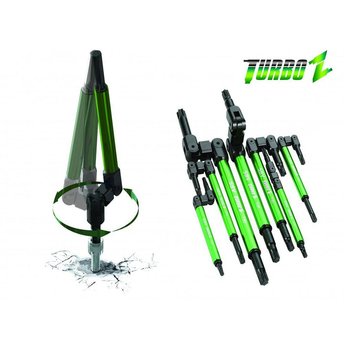 Turbo Z Star Key Set, 7 pcs - SIMZ Werkz