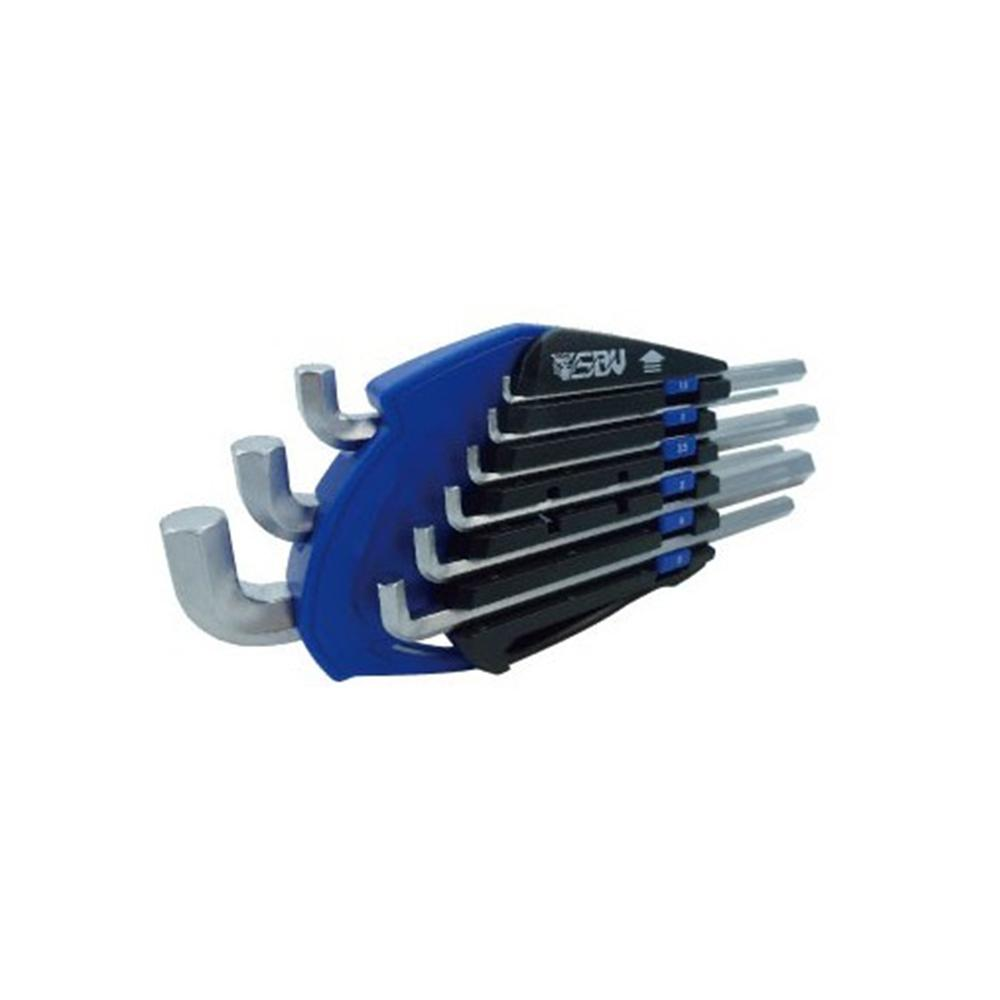 Stubby Hex Key Set (Long) 9pcs - SIMZ Werkz