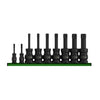 9pcs Star Impact Torsion Bit Socket Set - SIMZ Werkz