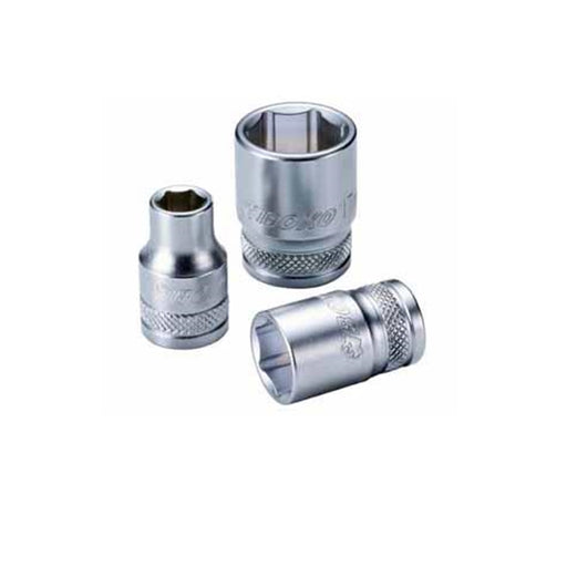 "1/2"" Dr. 6PT Socket 25mm w/ Frosty Finish - SIMZ Werkz"
