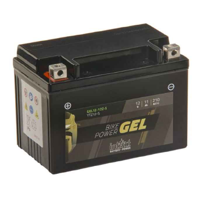 GEL12-12Z-S IntAct Bike-Power Gel Battery  (YTZ12-S) - SIMZ Werkz