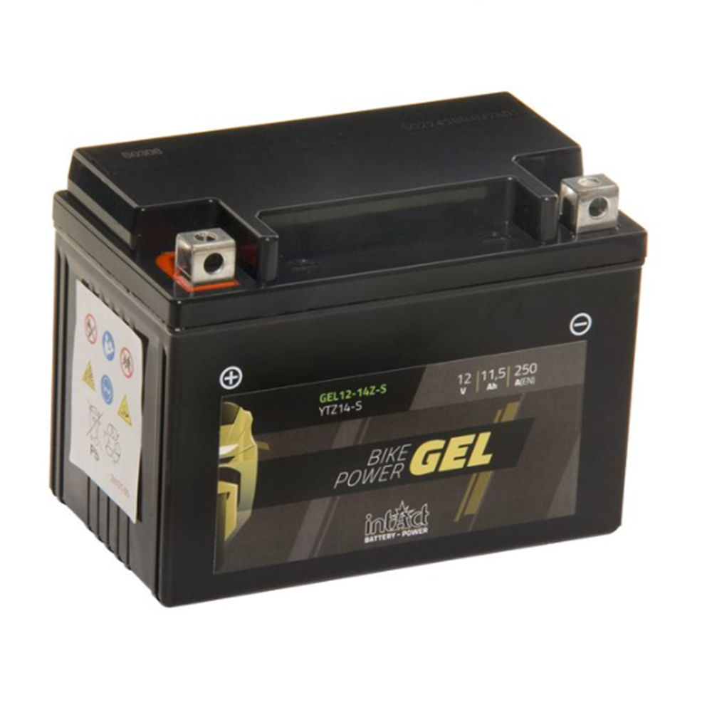 GEL12-14ZS IntAct Bike-Power Gel Battery (YTZ14-S) - SIMZ Werkz