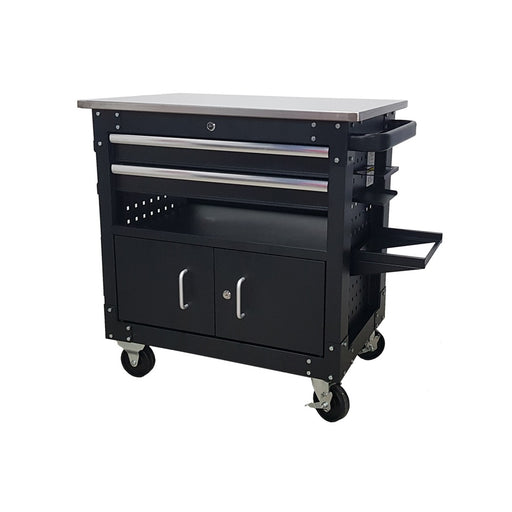 "27"" 2 Drawer Tattoo Trolley With Accessories - SIMZ Werkz"