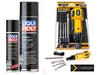 Bundle Set - Liqui Moly Motorcycle Chain Lube and Cleaner Plus Hybro USB Rechargeable Cordless Screwdriver - SIMZ Werkz