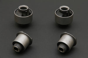 Hardrace Front lower Arm and Tension Rod Hardened Rubber Bushes (4pc Set) - Lexus IS200/IS300 Toyota Altezza