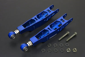 Hardrace Adjustable Rear Lower Control Arm With Hardened Rubber Bushes (Pair) Lexus IS200 IS300 Toyota JZX110 98-05