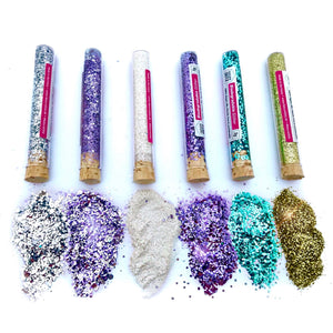 """Lord of the purple rings"" Bio Glitter Set"