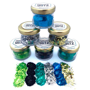 """Alien Galaxy"" Bio Glitter Set"