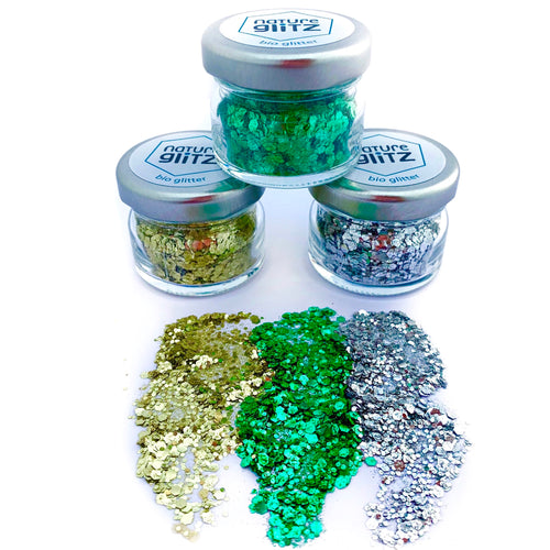 WOODSTOCK HIPPIE BIO GLITTER SET