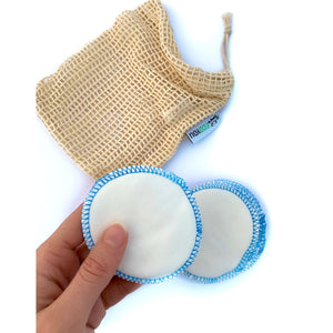 10 REUSABLE MAKEUP REMOVER PADS