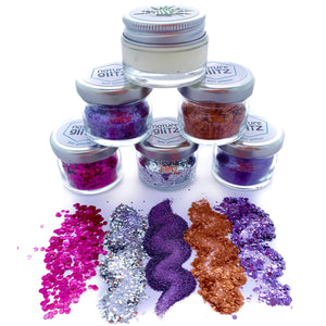 """Witchcraft"" Bio Glitter Set"