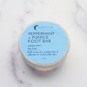Peppermint + Pumice Foot Bar