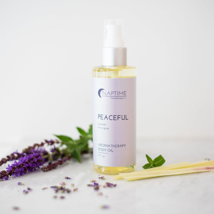 Peaceful Aromatherapy Body Oil