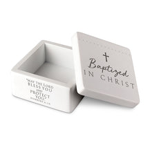 Baptized in Christ Keepsake Box