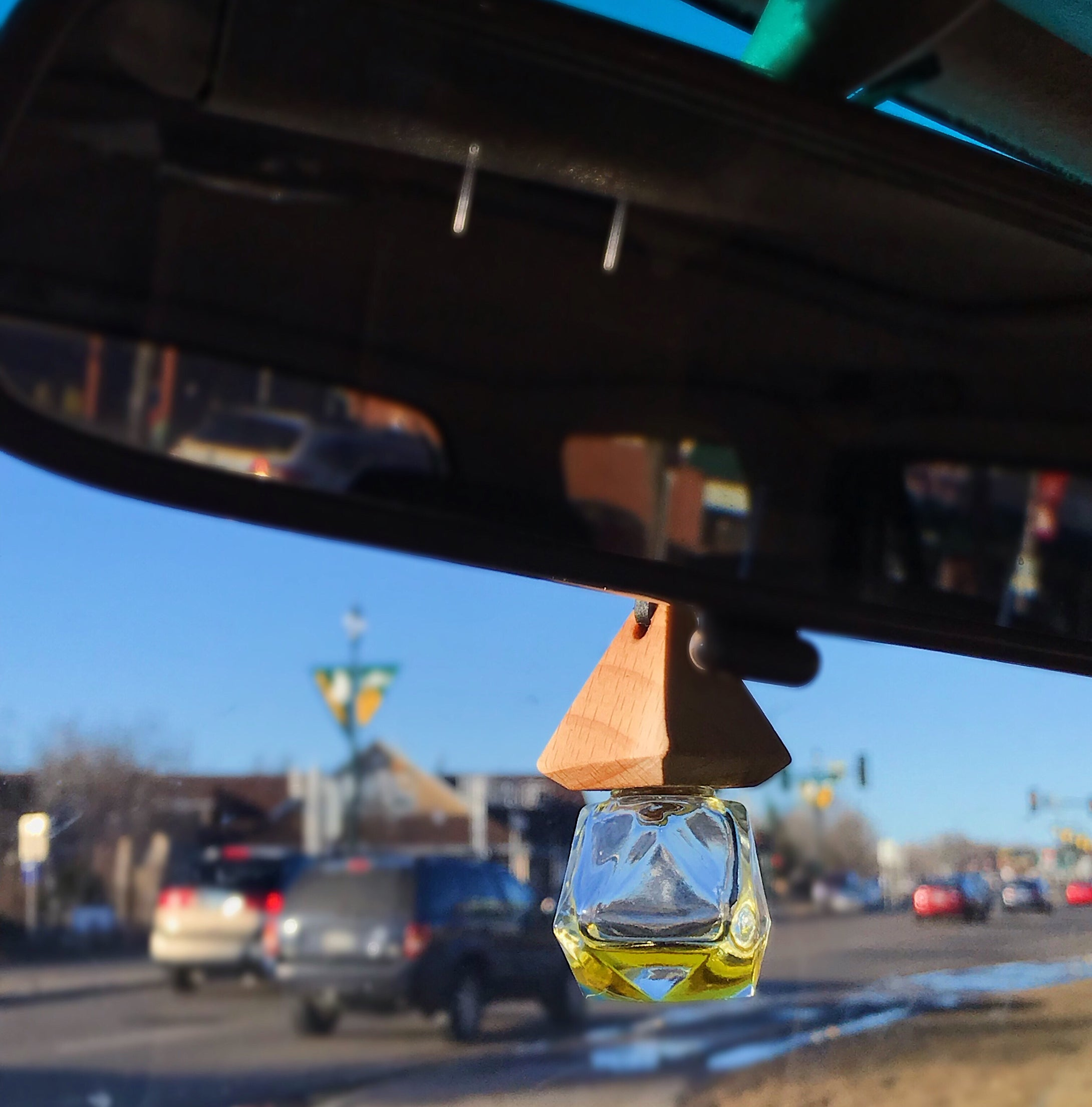 Glass Car Diffuser