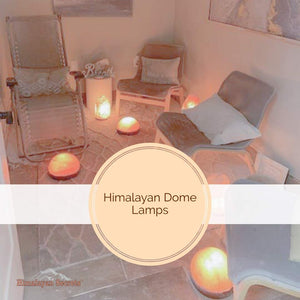 "Himalayan Foot Detox Half Dome Lamp | Remove Toxins & Relax Tired & Achy Feet (11"" Diameter)"