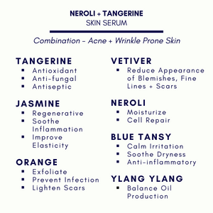 Neroli and Tangerine Essential Oil Facial Serum