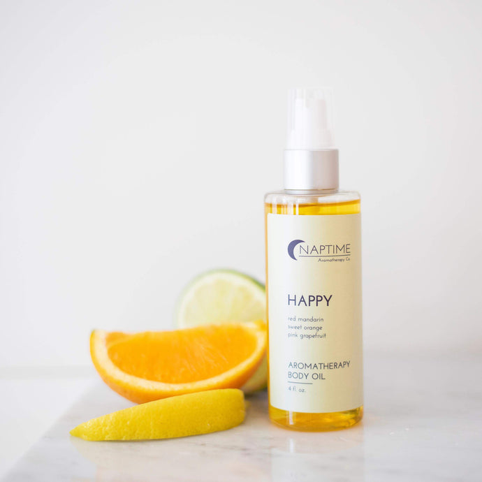 Happy Aromatherapy Body Oil