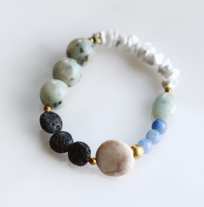 Seascapes Stackable Diffuser Bracelet