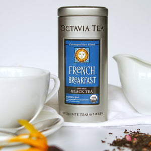 French Breakfast Tea Tin