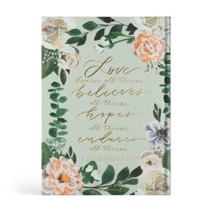 LARGE PRINT ESV JOURNALING BIBLE: VICTORIA THEME Hosanna Revival