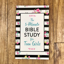The 5-Minute Bible Study for Teen Girls