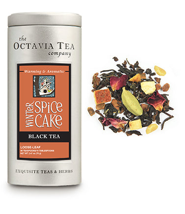 WINTER SPICE CAKE black tea