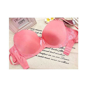 Band Embroidered Push Up Bra- 5 Colors- L033