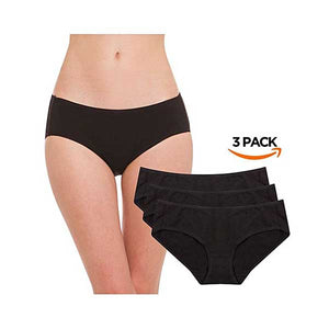 Pack of 3 High Quality Cotton Underwear- L034