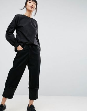 ZARA Black Full Sleeve Shirt